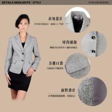 淘宝素材PSD分层高清描述模板服装模板