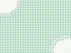 绿色格子清新背景