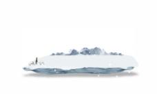 冰山平台设计