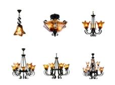 罗马欧式复古灯铁艺灯图片