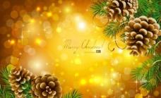 精美圣诞节背景矢量素材二