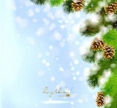 精美圣诞节背景矢量素材