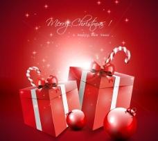 圣诞装饰礼物背景二