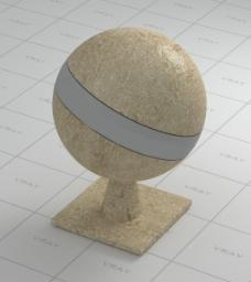 墙面材质球