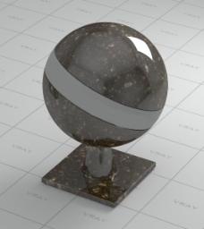 石料材质球
