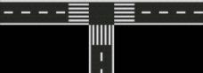 马路平面图图片