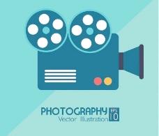 摄影相机摄影机电影图片