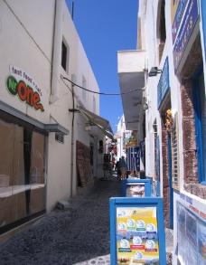 希腊 圣托里尼岛图片