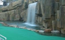 景观瀑布图片