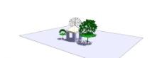 小树小屋图片