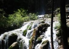 九寨沟的水图片