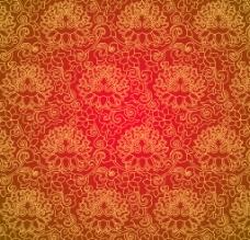 壁纸 底纹 花型 墙纸 欧式花纹 花纹图片