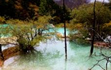 黄龙美景图片