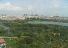 城市俯视图图片