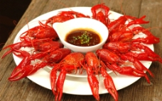 清蒸小龙虾图片