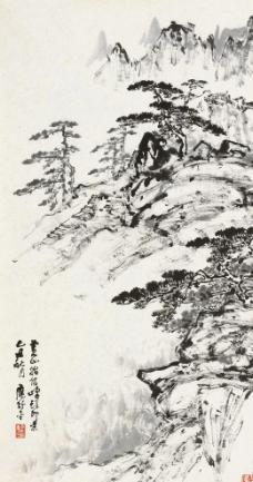 黄山始信峰图片