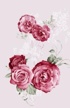 花卉底纹图片