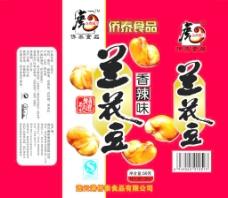 兰花豆包装图片