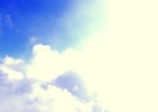 阳光蓝天图片