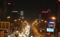 北京东三环夜景图片
