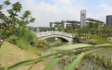 城院小桥流水图片