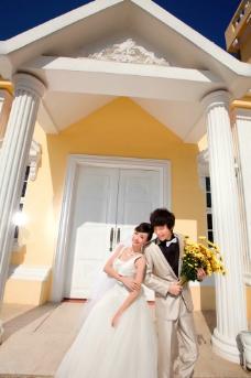 婚纱礼服 婚纱样片图片