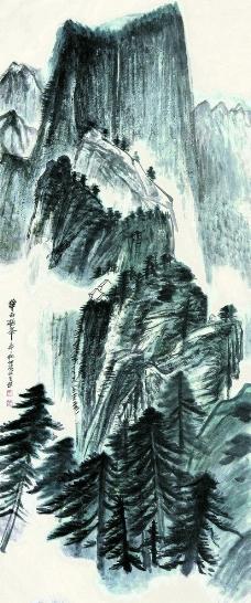 华岳极峰图片