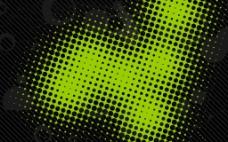 绿色科技光点背景