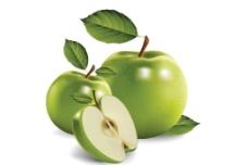 青苹果水果图片