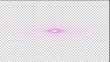 红色光晕透明素材