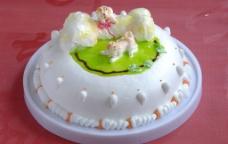 生日蛋糕 生肖 狗图片