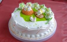 生日蛋糕 生肖 鸡图片