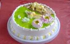 生日蛋糕 生肖 牛图片
