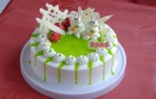 生日蛋糕 生肖 兔图片