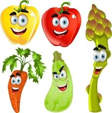 胡蘿卜青椒茄子圖片