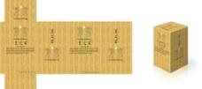 白酒盒包装图片