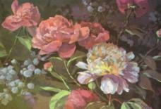水粉花卉图片