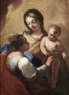 宗教油画图片