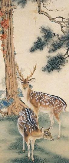 动物工笔画图片