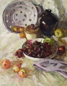 水果陶瓷静物图片