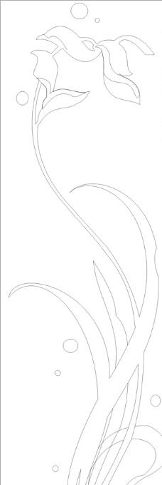 树叶图片_条纹线条_底纹边框