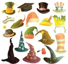 巫师帽图片