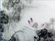 水墨画中国风动态PPT模板