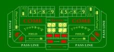 百家乐赌盘赌桌图片