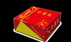 中国风蛋糕包装大礼盒图片