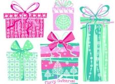 手绘圣诞节礼物图片