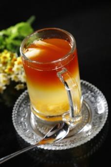 雪梨柚子茶图片