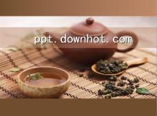 紫砂茶艺茶趣ppt模板