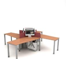 辦公室家具模型圖片