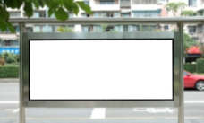 公交站牌图片